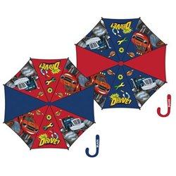 ARDITEX Dětský deštník PLAMÍNEK A ČTYŘKOLÁCI 81 cm