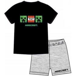 FASHION UK Bavlněné pyžamo MINECRAFT TNT 128 cm