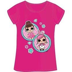 Dětské tričko L.O.L. Surprise 02 růžové (velikost 116 cm)
