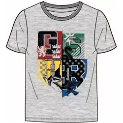 FASHION UK Bavlněné tričko HARRY POTTER GREY 140 cm