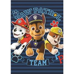 SETINO Fleece deka PAW PATROL TEAM 120x140 cm