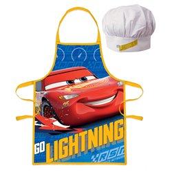 EUROSWAN Dětská zástěra CARS GO LIGHTNING set