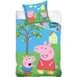 Dětské povlečení Peppa Pig Zahrada