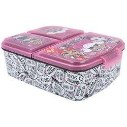 Dětský box na svačinu L.O.L. Surprise Rock (multibox)