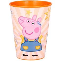 STOR Plastový kelímek PEPPA PIG KINDNESS 260 ml