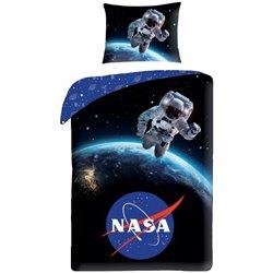 HALANTEX Bavlněné povlečení NASA VÝLET DO KOSMU 140x200, 70x90 cm