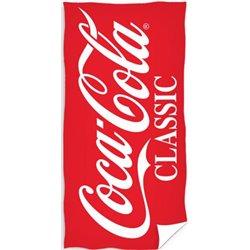CARBOTEX Bavlněná osuška COCA COLA CLASSIC 70x140 cm