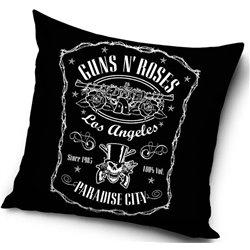 CARBOTEX Polštářek GUN N' ROSES LOS ANGELES 40x40 cm