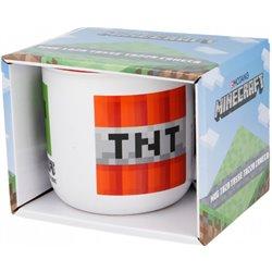 Dětský hrnek Minecraft Creeper/TNT (400 ml)