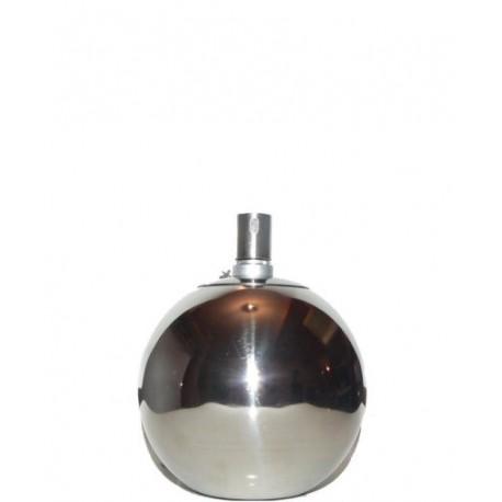DIMENZA Nerezová petrolejová lampa 12 cm