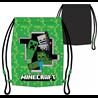 Dětský sáček na přezůvky Minecraft Monsters je praktický vak na sportovní potřeby. Základní vlastnosti:rozměry (šxv): 32x35 cm. 100% polyester. druhá strana je černá bez vzoru. omyvatelný hadříkem. licenční výrobek.