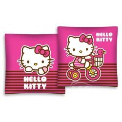 DETEXPOL Polštářek Hello Kitty na kole