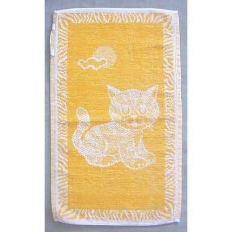 Dětský ručník Kotě (okrové)