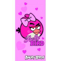 HALANTEX Osuška Angry Birds Pretty Bird 70x140 cm