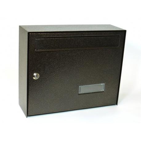 Poštovní schránka ferozinek komaxit 6309 (hnědá)