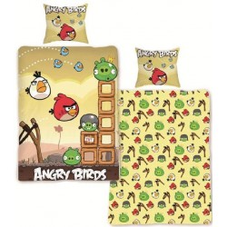 HALANTEX Povlečení Angry Birds poušť bavlna 140x200 70x80