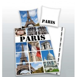 Povlečení Paříž (fototisk)