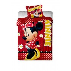 Jerry Fabrics povlečení Minnie red dot bavlna 140x200 70x90