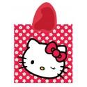 Dětské pončo Hello Kitty a květiny