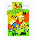 Dětské povlečení Simpsons Bart Skate
