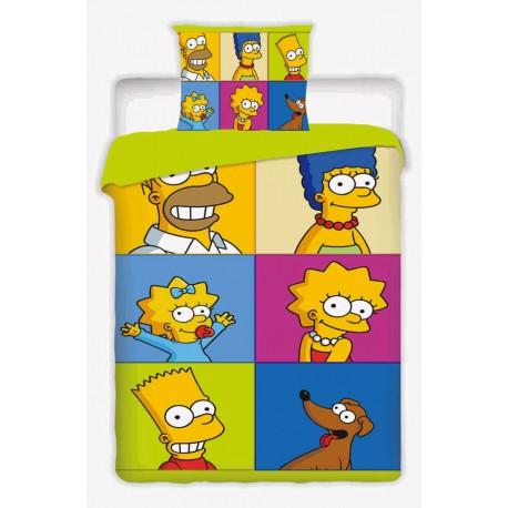 Dětské povlečení The Simpsons square