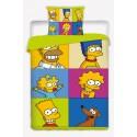 Dětské povlečení Simpsons Square