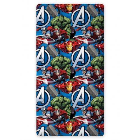 Bavlněné prostěradlo Avengers 01