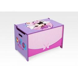 DELTA Dětská dřevěná truhla Minnie