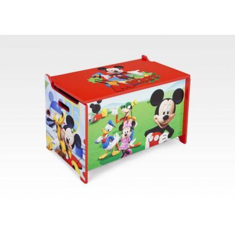 Dětská dřevěná truhla Myšák Mickey TB84877MM