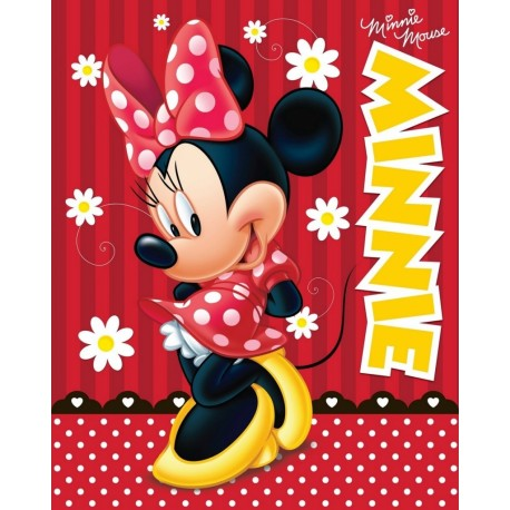 Deka fleece Minnie