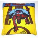 Dětský polštářek Spiderman žlutý (cestovní)