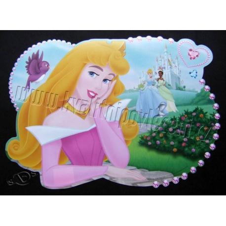 DIOMERCADO Prostírání Princezny u zámku 29x42 cm
