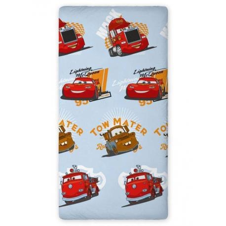 Dětské prostěradlo Cars Blesk a Burák (90x200 cm)