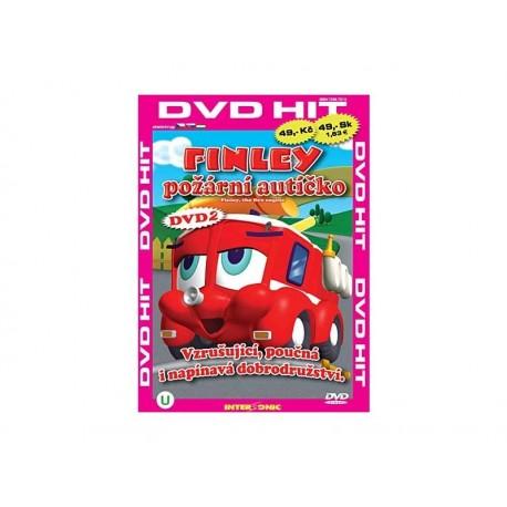 DVD Finley - požární autíčko 2
