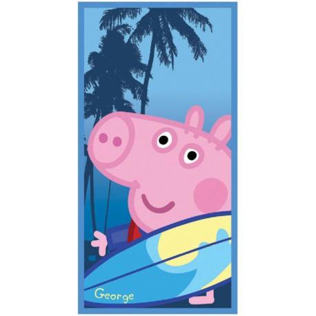 Plážová osuška Peppa Pig serf 70/140