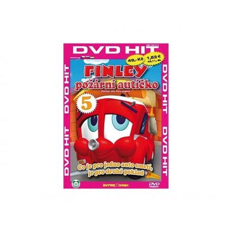 DVD Finley - požární autíčko 5