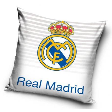 Polštářek Real Madrid pruhy 40x40