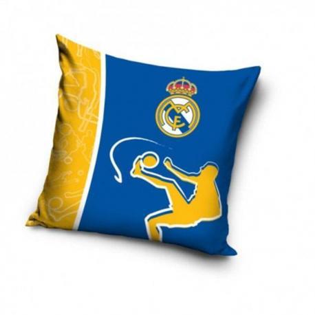 Polštářek Real Madrid modrožlutý 40x40