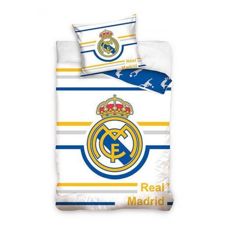 Povlečení Real Madrid bílá 140/200