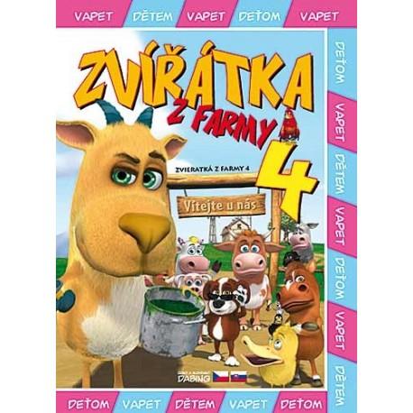 DVD Zvířátka z farmy 4