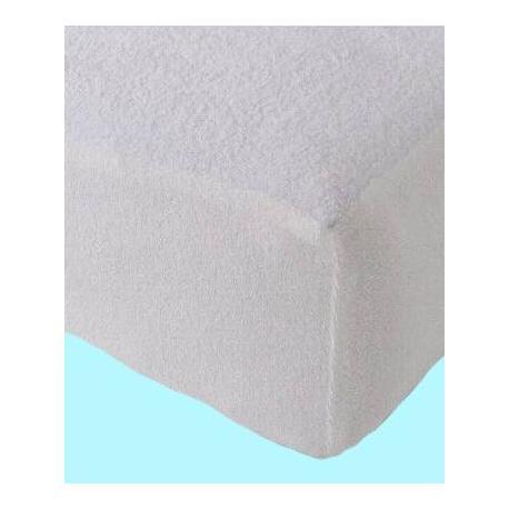 Froté nepropustné prostěradlo 90x200 cm (bílé)