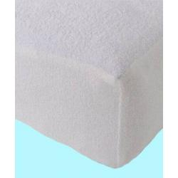 Froté nepropustné prostěradlo 90x220 cm (bílé)