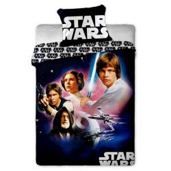 Povlečení bavlna Star Wars 01 1x 140/200, 1x 90/70