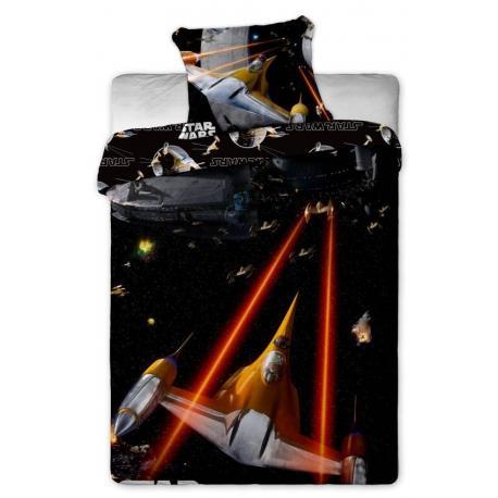 Povlečení bavlna Star Wars spaceships 1x 140/200, 1x 90/70