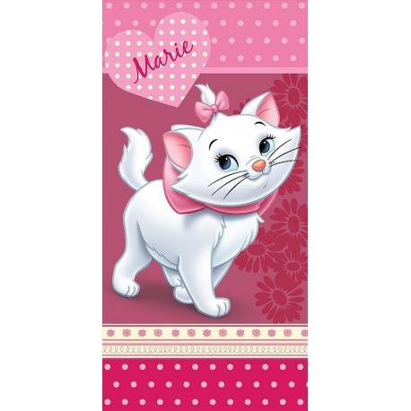 Osuška Marie Cat Pinkie 75x150 cm