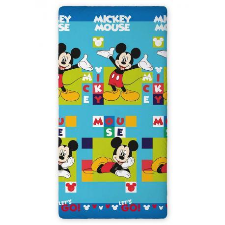 Dětské prostěradlo Mickey Mouse 90x200 02 (new)