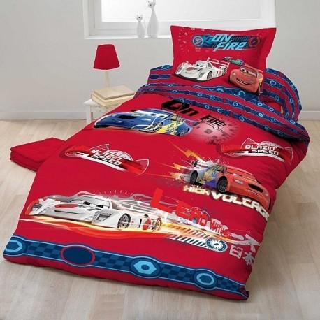 Dětské povlečení Cars 2012 červené