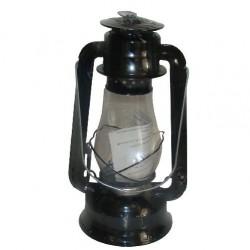 Plechová petrolejová lampa 30 cm (černá) 2.jakost
