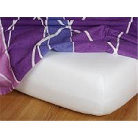 Dadka Jersey prostěradlo EXCLUSIVE bílé 180x200 cm