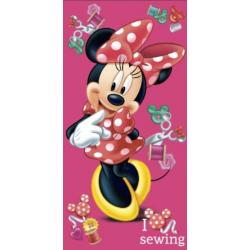 Dětská osuška Minnie Button